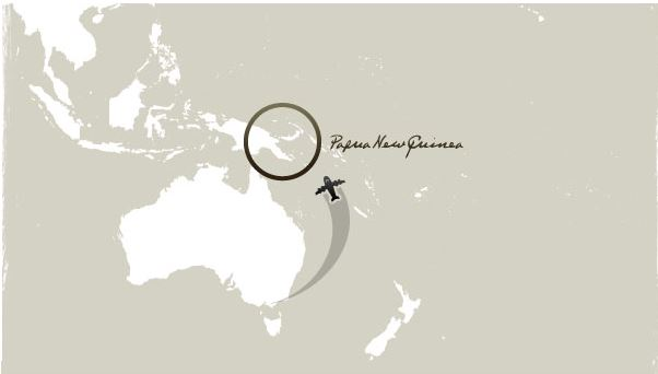 Lage von Papua-Neuguinea | Papua New Guinea