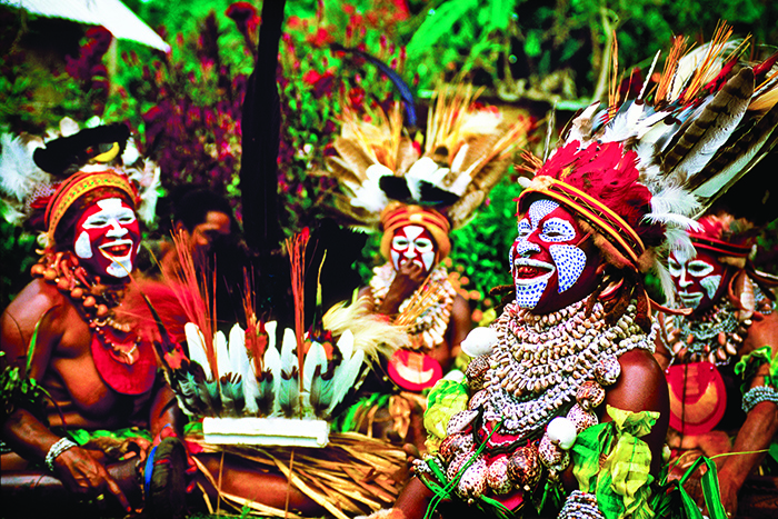 Papua New Guinea Culture: Melpa Women, Hagen Show, Western Highlands Province