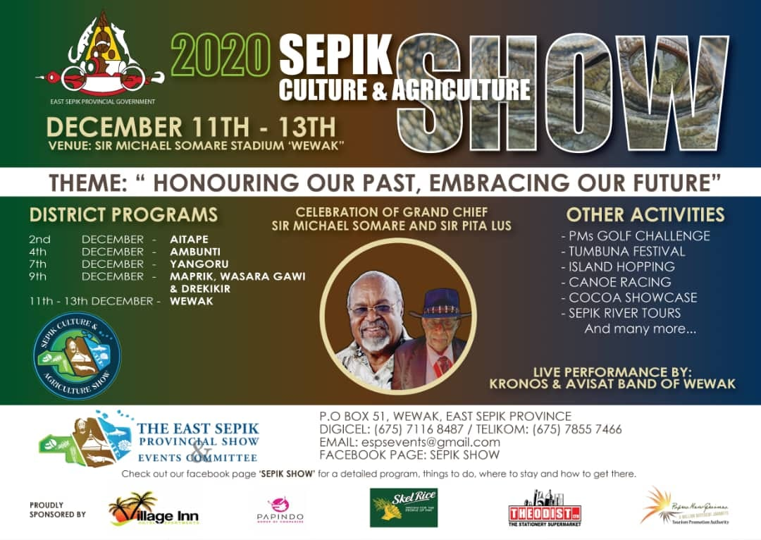 2020 Sepik Culture and Agriculture Show