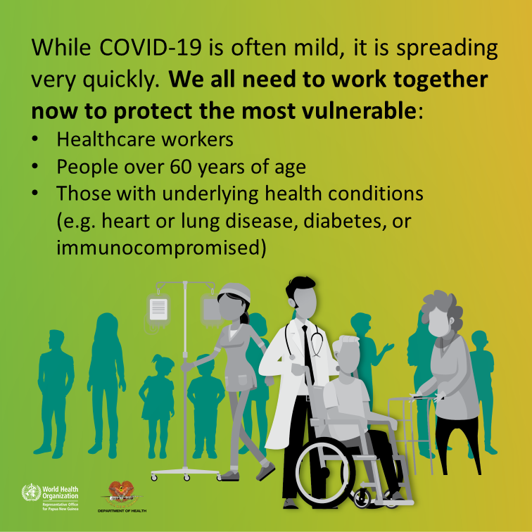 COVID-19 Information from Department of Health
