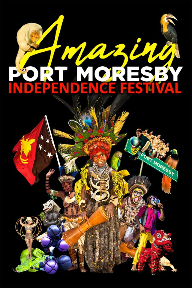 Amazing Port Moresby Independence Festival flyer