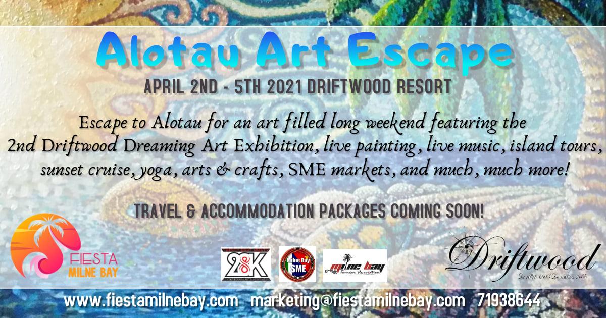 Alotau Art Escape in April