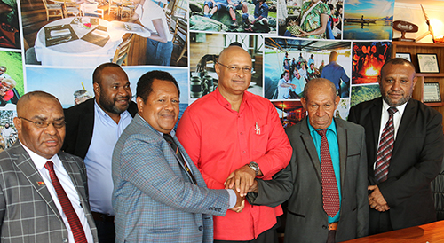 2021 PNG New Tourism Minister Handover-Takeover Ceremony