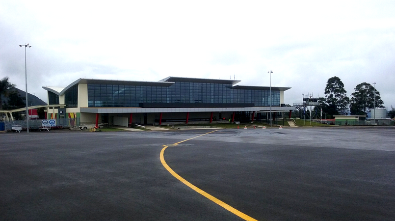 New Goroka Airport Terminal