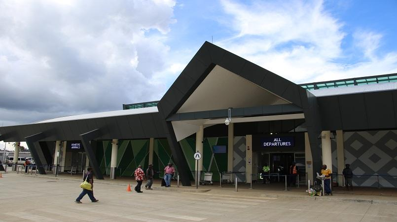 New Kagamuga airport, Mt Hagen