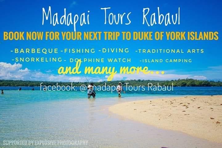 Madapai Tours contact details