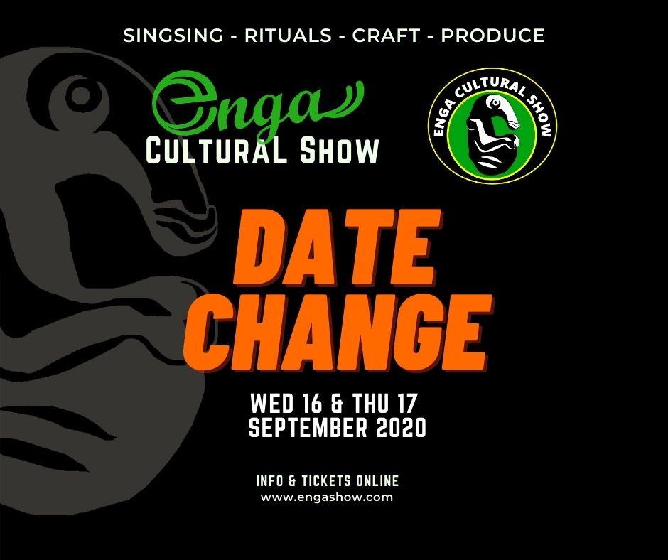2020 Enga Show date change