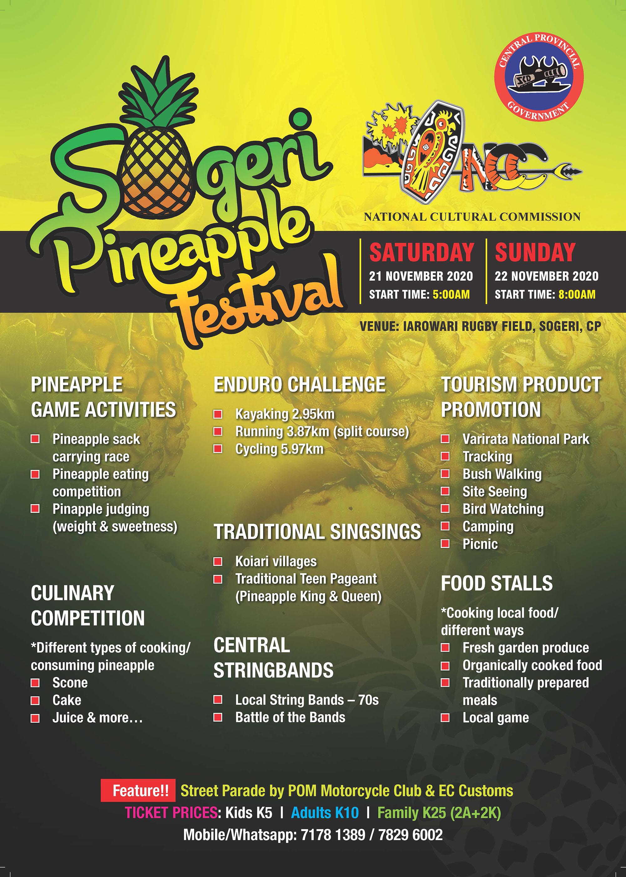 2020 Sogeri Pineapple Festival