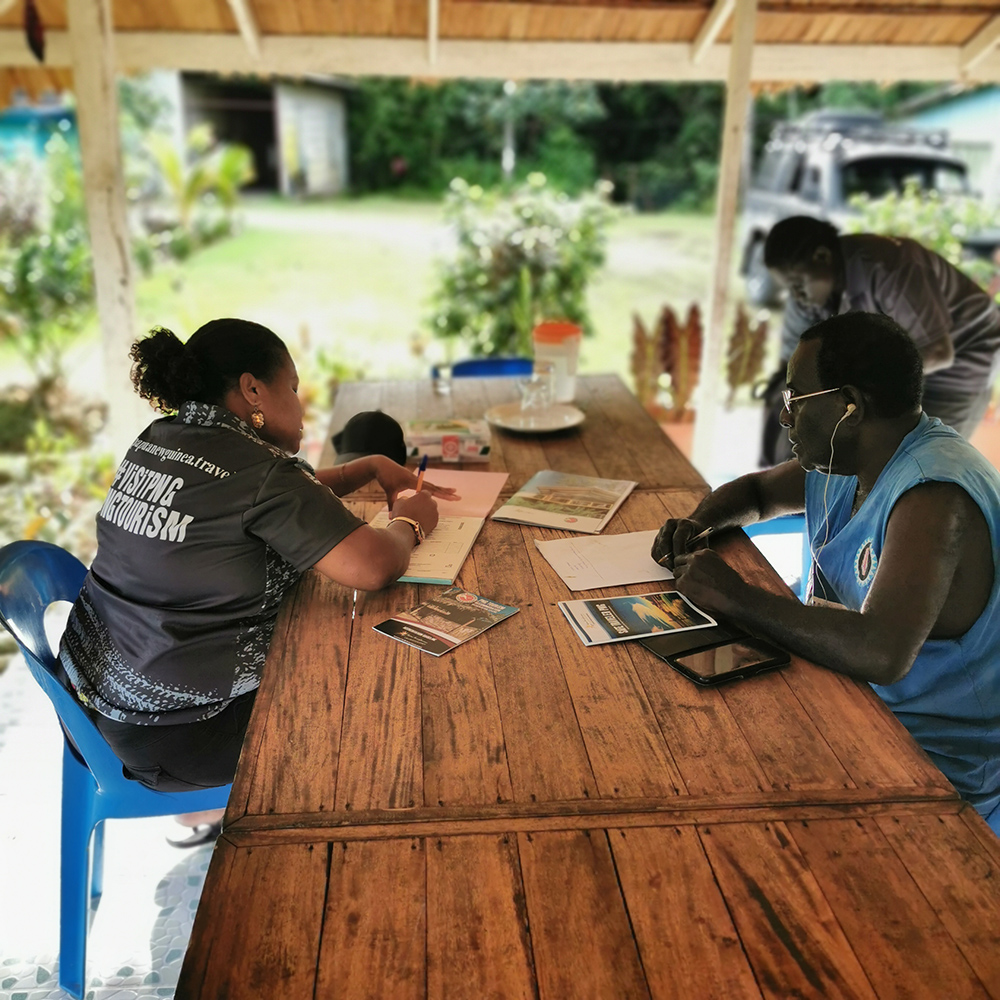 Safe Traveler Awareness in Bougainville with Mary Kanawi