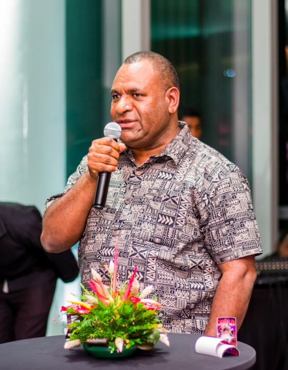 PNG Tourism Promotion Authority CEO Mr. Jerry Agus