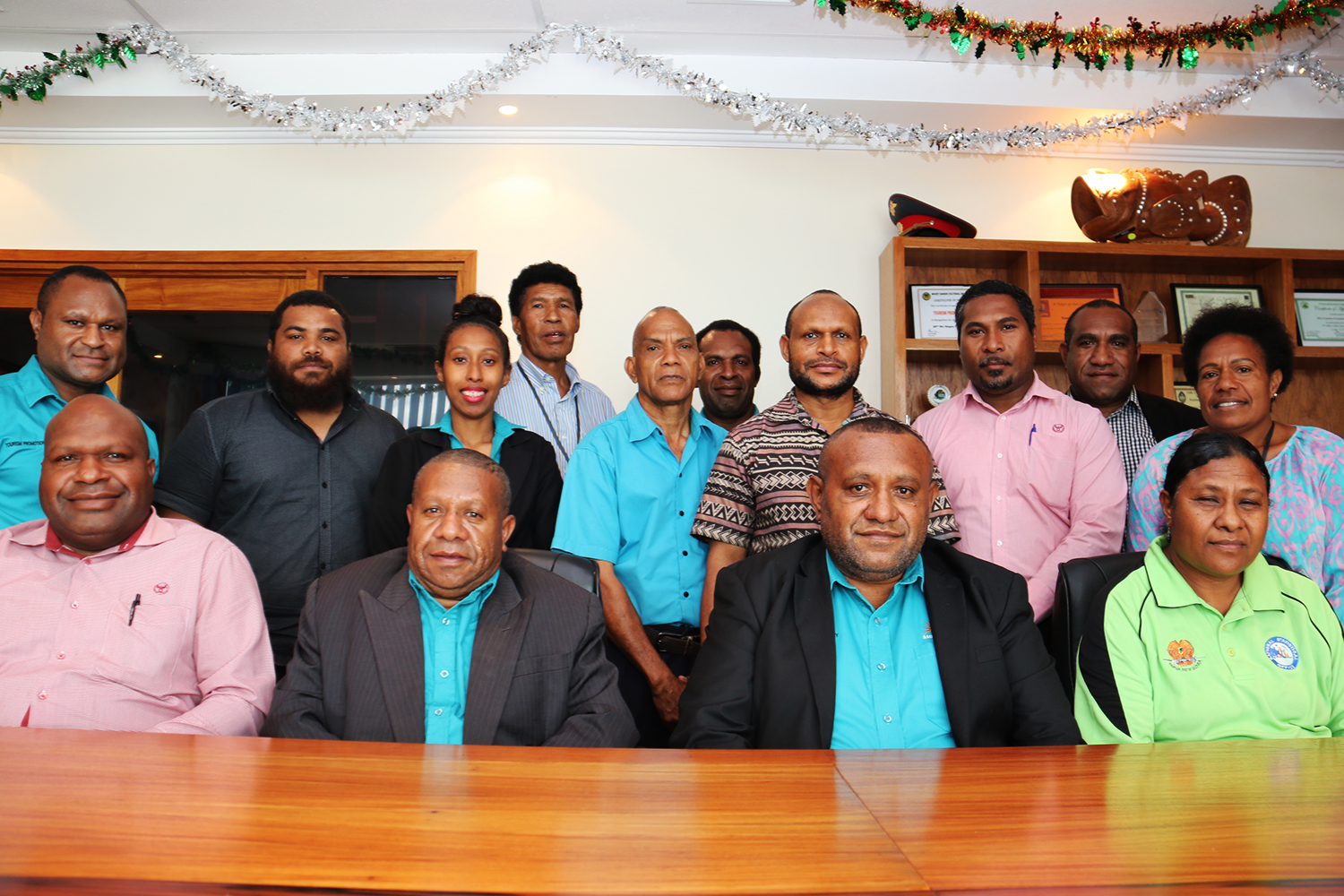 TSA Technical Working Group at the TPA Office in Port Moresby.